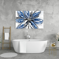 Canvas 24 x 36 - Blue petal