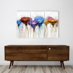Canvas 24 x 36 - Colorful flowers