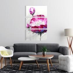 Canvas 24 x 36 - Fuchsia wild flower