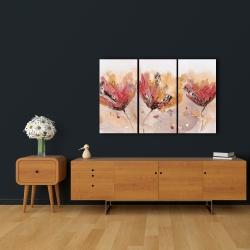 Canvas 24 x 36 - Four little flowers