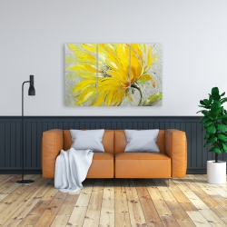 Canvas 24 x 36 - Yellow flower
