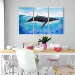 Canvas 24 x 36 - Blue whale