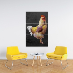 Canvas 24 x 36 - Beautiful rooster 2