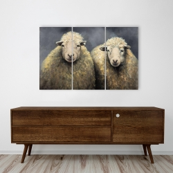 Canvas 24 x 36 - Wool sheeps