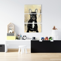 Canvas 24 x 36 - French bulldog