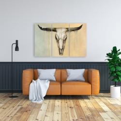 Canvas 24 x 36 - Bull skull