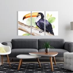 Canvas 24 x 36 - Toucan perched