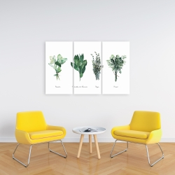 Canvas 24 x 36 - Fines herbes