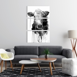 Canvas 24 x 36 - Jersey cow