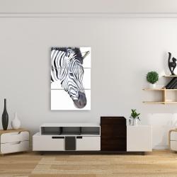 Canvas 24 x 36 - Zebra