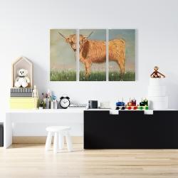 Canvas 24 x 36 - Daisy the highland cow