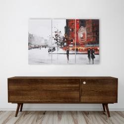 Canvas 24 x 36 - Classic street scene