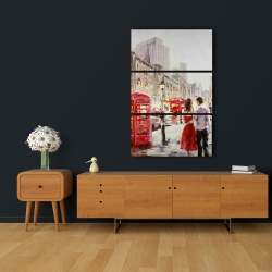 Canvas 24 x 36 - Couple walking