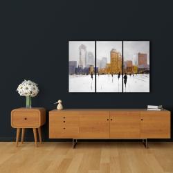 Canvas 24 x 36 - City on the horizon