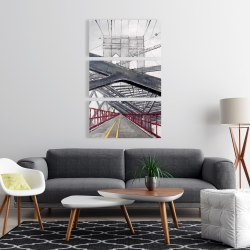 Canvas 24 x 36 - Under the brooklyn bridge
