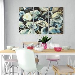 Canvas 24 x 36 - Oyster shells
