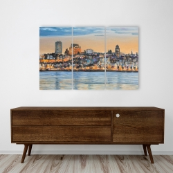 Canvas 24 x 36 - Skyline of quebec city