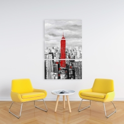 Canvas 24 x 36 - Empire state building of new york