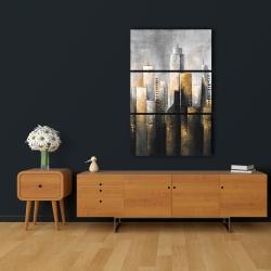 Canvas 24 x 36 - Abstract skyline