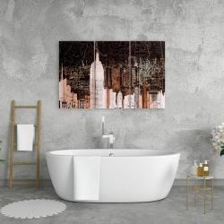 Canvas 24 x 36 - The empire city of newyork