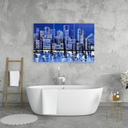 Canvas 24 x 36 - Blue skyline