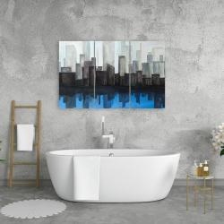 Canvas 24 x 36 - Blue city