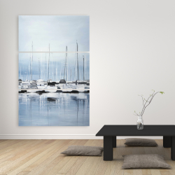 Canvas 40 x 60 - Boats at the dock 2