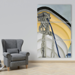 Canvas 40 x 60 - The yellow boat