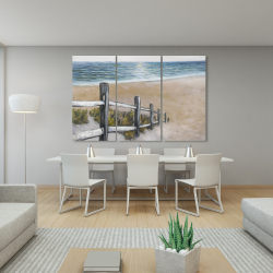 Canvas 40 x 60 - Soft seaside