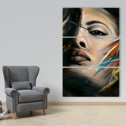 Canvas 40 x 60 - Abstract woman portrait