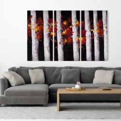Toile 40 x 60 - Arbres et feuilles d'automne