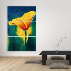 Canvas 40 x 60 - Superb contrast flowers