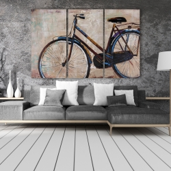 Canvas 40 x 60 - Industrial bicycle