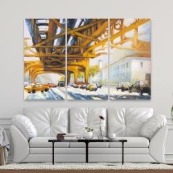 Canvas 40 x 60 - Trafic under the bridge