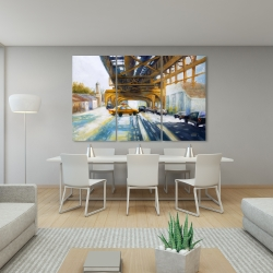 Canvas 40 x 60 - Cars under the bridge
