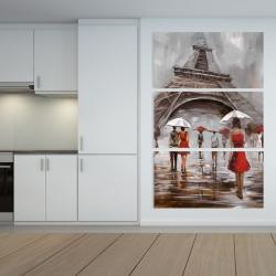 Canvas 40 x 60 - Near the eiffel tower