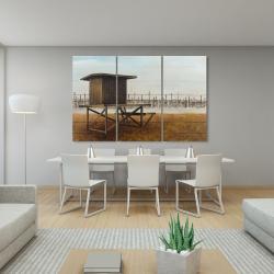 Canvas 40 x 60 - Newport beach lifeguard tower