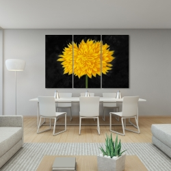 Canvas 40 x 60 - Yellow chrysanthemum