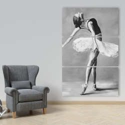 Canvas 40 x 60 - Classic ballet dancer
