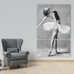 Canvas 40 x 60 - Classic ballet dancer