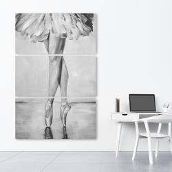 Canvas 40 x 60 - Ballet classic steps