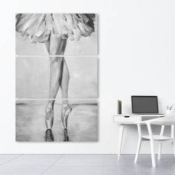 Canvas 40 x 60 - Ballet classic steps