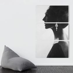 Toile 40 x 60 - Femme chic