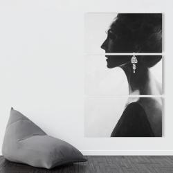 Canvas 40 x 60 - Chic woman