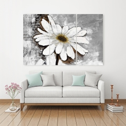 Canvas 40 x 60 - Abstract daisy