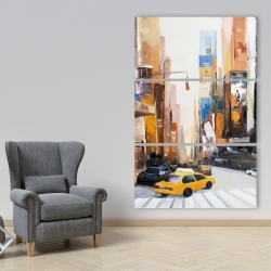 Canvas 40 x 60 - City early in the morning