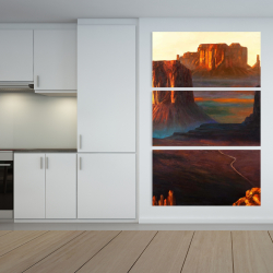 Canvas 40 x 60 - Monument valley tribal park in arizona