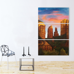 Canvas 40 x 60 - Cathedral rock in arizona