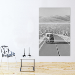 Canvas 40 x 60 - Car on the road again