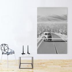 Canvas 40 x 60 - Car on the road again
